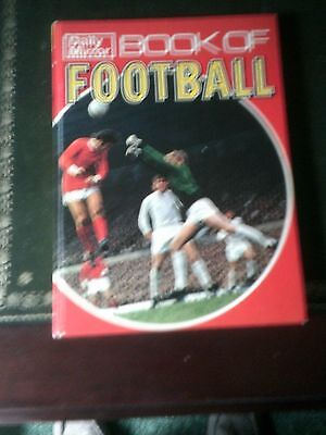 Daily Mirror Book Of Football. Published 1970, Vintage Annual