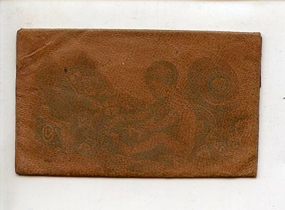 Arm & Hammer Brand Soda Leather Advertising Wallet, Tiny, Church  & Co.