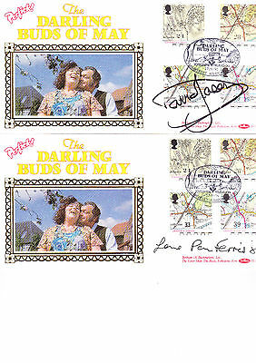 Darling Buds Of May Signed Covers X2