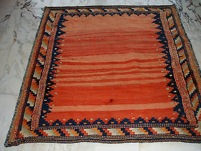 Nice Old Persian Sofre Rug Persischer Sofreh Herddecke Tapis Ancien