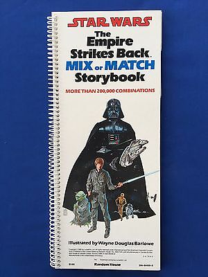1980 Star Wars The ESB Mix or Match Storybook Random House MINT New Old Stock