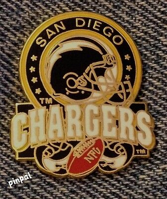 San Diego Chargers Lapel Pin~NFL~Football~Vintage 1993 by Peter David Inc.