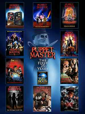 Puppet Master 25 Years Full Color Poster - 27x36 - Full Moon Productions