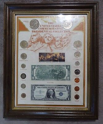 The United States Commemorative Presidential Collection Coins Stamps Currency