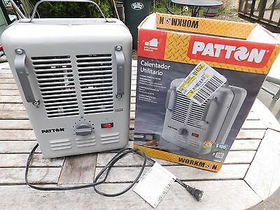 SPACE or UTILITY HEATER / PATTON WORKMAN HEATER