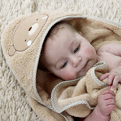 Teddy and Elle Towelling Cuddle Robe - Natures Purest Organic - Baby Gift