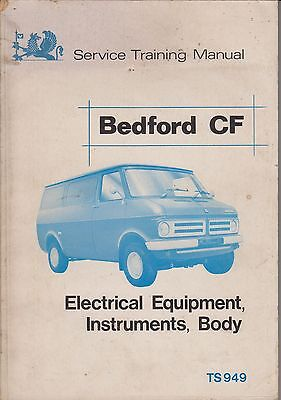 Bedford Cf Mk1 Petrol Body & Electrical System Original Factory Repair Manual