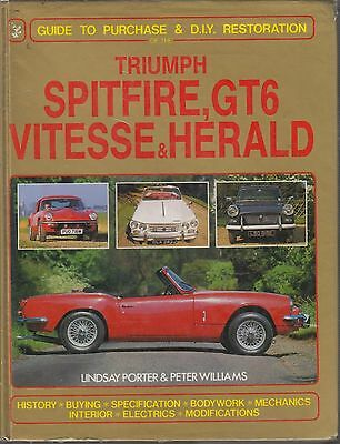 Triumph Spitfire Gt6 Vitesse Herald ( 1959 - 1981 ) Owners Restoration Manual