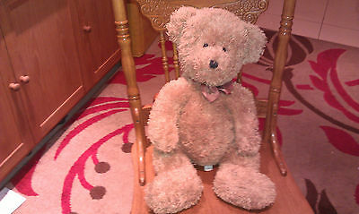 Well Loved Labelled Chad Valley Teddy Bear 26""