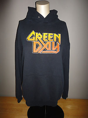 2001 GREEN DAY Black Hoodie Hooded Sweatshirt - Adult Size Large L