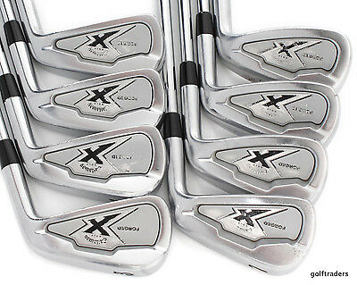 Callaway X Forged Irons 3-Pw Dynamic Gold S300 Stiff Flex - New Grips #d2777