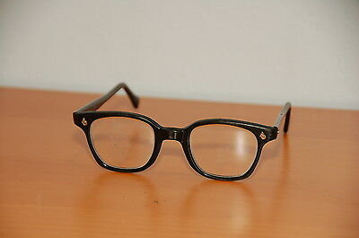 American Optical AO SunGlasses Flexi Fit 6M  Black Glasses steampunk motorcycle