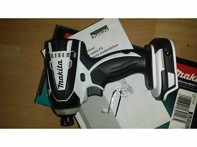 Makita XTD04z White LXT18V Lithium-Ion Cordless Impact Driver(Body Only) Limited