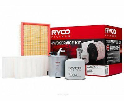RYCO Oil Air Fuel Cabin Filter Service Kits NISSAN NAVARA D40 Spanish Built