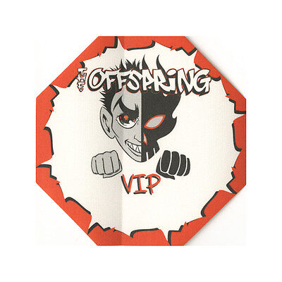 The Offspring authentic VIP 2000-2001 tour Backstage Pass