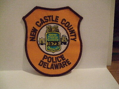 police patch   NEW CASTLE COUNTY POLICE DELAWARE