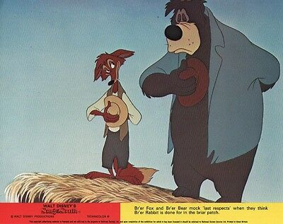 """Disney's Song Of The South  lobby card print # 6 - 8"""" x 10"""" inches"""