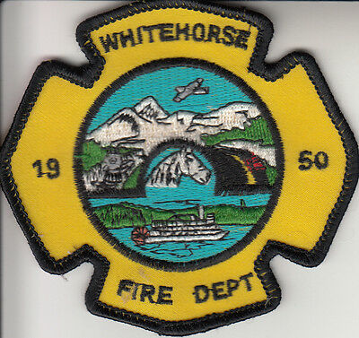 Whitehorse Fire Dept Patch