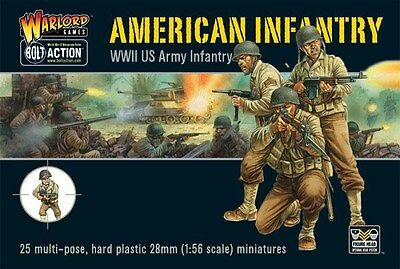 Warlord Games Bolt Action American Infantry 28mm Scale Miniatures WGB-AI-01