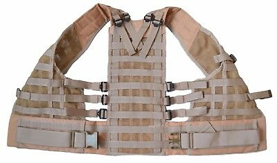 Russian Original TECHINKOM 6SH117 Carrying System Molle Vest Coyote / Sand Syria