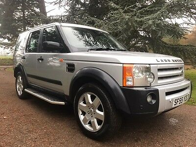 2006 Land Rover Discovery 3 Hse Tdv6 Auto Silver