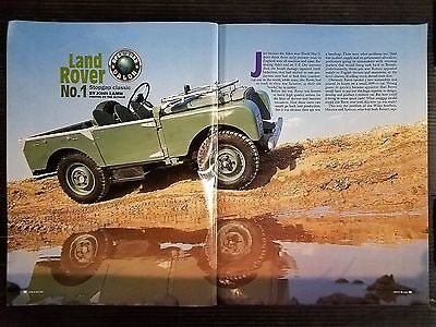 1996 Stopgap Classic Land Rover   - 5 Page Original Article - Free Shipping