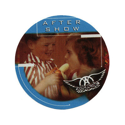 Aerosmith authentic Aftershow 2001 tour Backstage Pass
