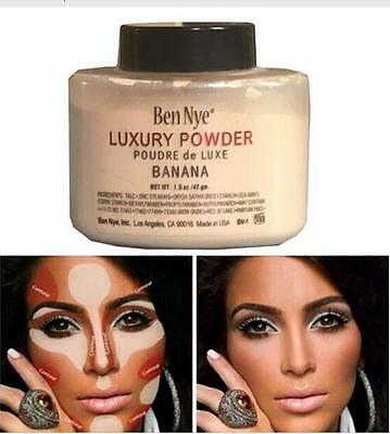 Imported Ben Nye Luxury Banana Powder Bottle Face Makeup 42g Great Gift