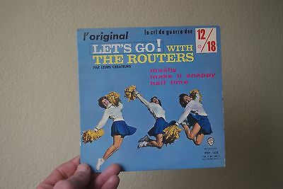 disque vinyle 45 tours let's go with the routers
