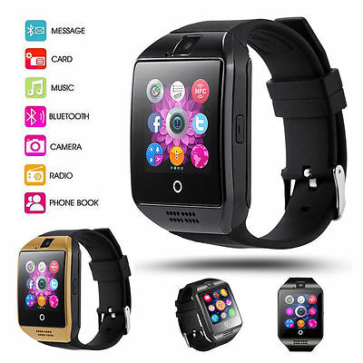 NEW 2017 APRO-Arc Touch Screen Bluetooth Smart Wrist Watch For Android & IOS