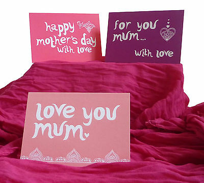 Wholesale / Job Lot Mum /Mother's Day Greeting Cards