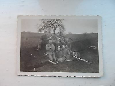 German world war 2 original photograph - old photo military
