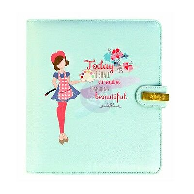 My Prima Planner Julie Nutting A5 6 Ring Undated Includes Inserts Faux Leather
