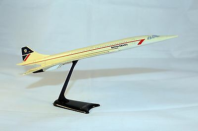 Concorde Model Aircraft British Airways Airplane Used By Travel Agents