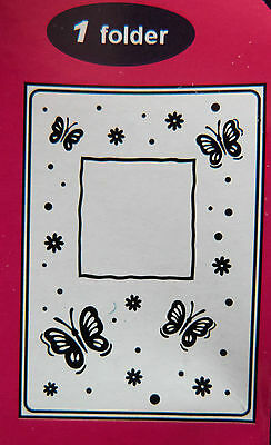 Crafts-Too/CTFD3040/C6/Embossing /Folder/Butterfly Frame/Floral/Flower