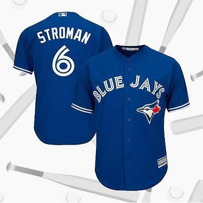 Toronto Blue Jays Marcus Stroman 6# Royal Alternate Cool Baseball Jersey