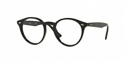 Ray-Ban RX2180V SHINY BLACK (2000)  (47mm)