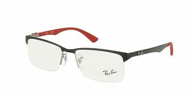 Ray-Ban RX8411 SHINY BLACK (2509)  (54mm)