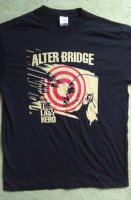 Alterbridge 2016 European and UK tour shirt