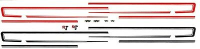 1968 Ford Torino Side Stripes 1/64th HO Scale Slot Car Decals