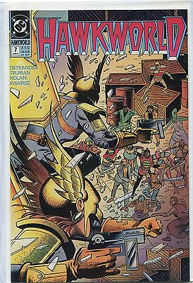 Hawkworld #7 (Feb 1991, DC), VF/NM