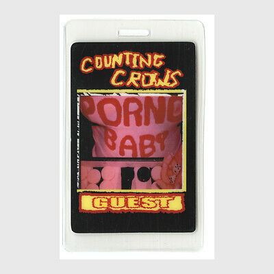 Counting Crows authentic * concert tour Laminated Backstage Pass