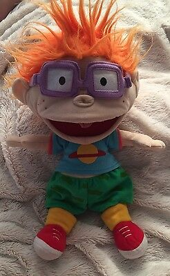 Nickelodeon Retro 90s The Rugrats Chucky Hand Puppet Doll Approx 14 Inch