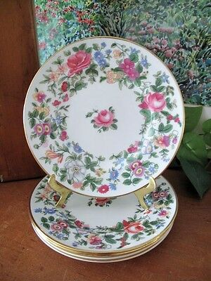Crown Staffordshire ~ CRS131 ~ Tea Plates ~ Five