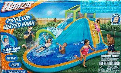 Banzai Pipeline Water Slide Park Bounce House ~ NEW