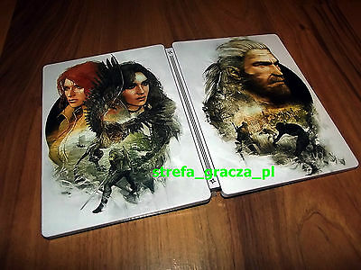 The Witcher 3: Wild Hunt STEELBOOK NOVIGRAD EXCLUSIVE LIMITED EDITION - NEW - G2