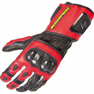 Scorpion EXO SG3 MK II Leather Gloves Motorcycle Race Gloves