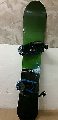 Burton Clash Snowboard with custom bindings.