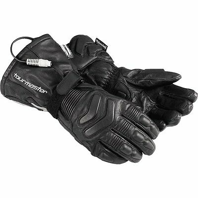Tour Master Synergy 2.0 Electric Leather Gloves Heated Motorcycle Gloves