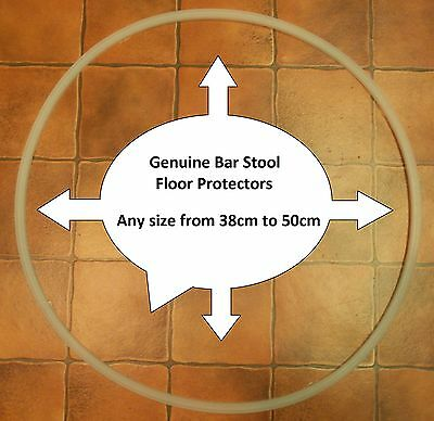 Bar Stool Floor Protector, Rubber / Plastic Ring, Gasket, Base Protection Guard